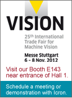 Visit Icron at Vision 2012 in booth E143