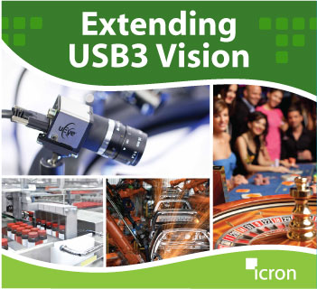 Extending USB3 Machine Vision application