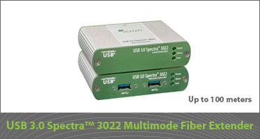 Icron USB 3.0 Spectra 3022 Multimode Fiber Extender