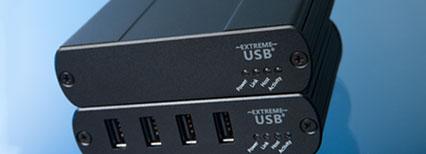 USB 2.0 RG2304GE-LAN extender