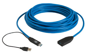 USB 3.0 15m active copper extension cable