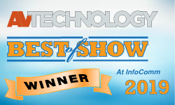 AV Technology Best of Show InfoComm 2019 Winner