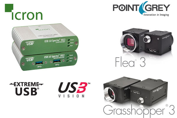 Icron Technologies and Point Grey Announce USB3 Vision