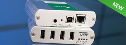 USB 2.0 Ranger 2304GE-LAN Extender System