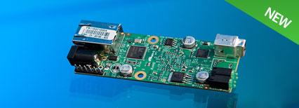 1-port USB 2.0 Extender PCBA – 100m CAT 5e/6/7 or LAN
