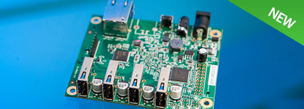 4-port USB 2.0 Extender PCBA – 100m CAT 5e/6/7 or LAN