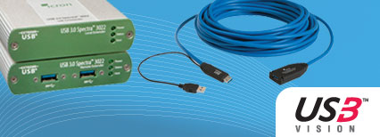 USB 3.0 Spectra 3022 and 3001-15 extender solutions