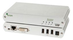 EL5353 DVI + USB 2.0 KVM Extender System