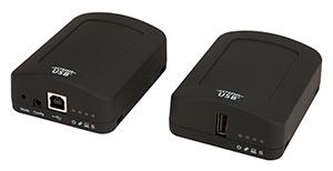 USB 2.0 RG2311 single port  100m CAT 5e/6/7 extender with flexble power