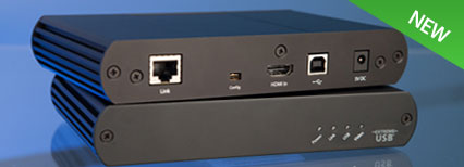 VU5363 HDMI + USB 2.0 Extender System