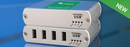USB 2.0 Ranger 2324 Multimode Fiber Extender System