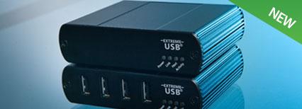 USB 2.0 RG2324 Multimode Fiber Extender System