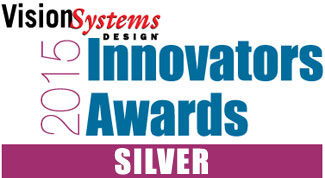 Vision Systems Design 2015 Innovation Awards Silver